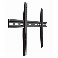 "Televizoriaus laikiklis Gembird Wall, WM-65F-02 TV wall mount (fixed), 32 - 65 "", Maximum weight (capacity) 40 kg, VESA mounting dimensions 600x400 mm Yes, Black TV stovai, laikikliai"