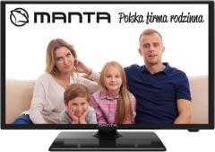 Televizorius Manta 24LFN37L LED/ LCD televizoriai