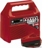 TELWIN GEMINY 11 (6-12 V) +- akumuliatoriaus pakrovėjas