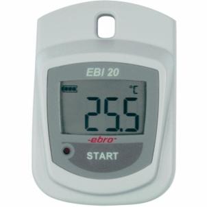Temperatūros matuoklis Ebro EBI 20-T1 Ambient Datalogger Vērtējumu datu mērinstrumenti