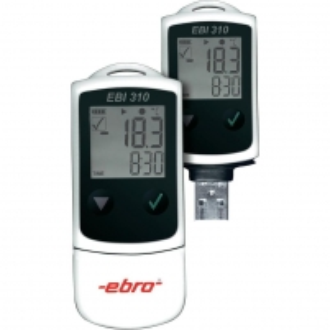 Temperatūros matuoklis ebro EBI 310 USB Datalogger Duomenų kaupiklių matuokliai