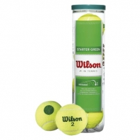 Teniso kamuoliai Starter Play green 4-ball Outdoor tennis balls