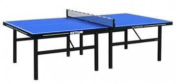 Teniso stalas outdoor 22mm KETTLER SMASH 11 blue Galda tenisa galdi