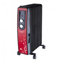 Tepalinis radiatorius Adler AD 7802, raudona/ juoda Heaters tepaliniai