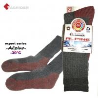 Termo kojinės TAGRIDER Expert Alpine -30°C Women's tights/stockings