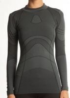 Termo marškinėliai ARINA 80002 204 XL/XXL black/gr Žvejybiniai apatiniai rūbai