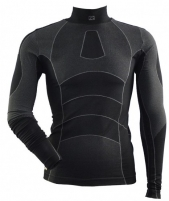 Termo marškinėliai ATHOL 80000 204 XS/S black/grey