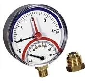 Termomanometras 1/2 4barų paj.šone TMRA 4 Citi termometri