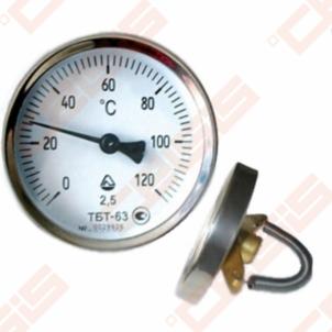 Termometras TAB 63/120, pridedamas Matavimo prietaisai ir priemonės