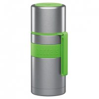 Termosas Boddels HEET Vacuum flask with cup Apple green, Capacity 0.35 L, Diameter 7.2 cm, Bisphenol A (BPA) free