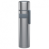 Termosas Boddels HEET Vacuum flask with cup Isothermal, Light grey, Capacity 0.7 L, Diameter 7.2 cm, Bisphenol A (BPA) free