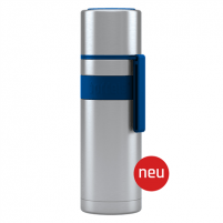 Termosas Boddels HEET Vacuum flask with cup Isothermal, Night blue, Capacity 0.5 L, Diameter 7.2 cm, Bisphenol A (BPA) free