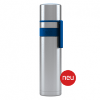 Termosas Boddels HEET Vacuum flask with cup Isothermal, Night blue, Capacity 0.7 L, Diameter 7.2 cm, Bisphenol A (BPA) free