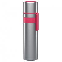 Termosas Boddels HEET Vacuum flask with cup Isothermal, Raspberry red, Capacity 0.7 L, Diameter 7.2 cm, Bisphenol A (BPA) free