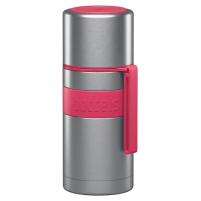 Termosas Boddels HEET Vacuum flask with cup Raspberry red, Capacity 0.35 L, Diameter 7.2 cm, Bisphenol A (BPA) free