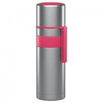 Termosas Boddels HEET Vacuum flask with cup Raspberry red, Capacity 0.5 L, Diameter 7.2 cm, Bisphenol A (BPA) free