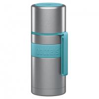 Termosas Boddels HEET Vacuum flask with cup Turquoise blue, Capacity 0.35 L, Diameter 7.2 cm, Bisphenol A (BPA) free