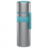 Termosas Boddels HEET Vacuum flask with cup Turquoise blue, Capacity 0.5 L, Diameter 7.2 cm, Bisphenol A (BPA) free