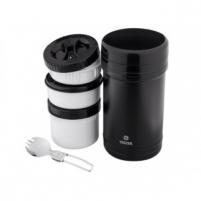 TERMOSAS MAISTUI 1.6L 3D JUODAS Vacuum flasks