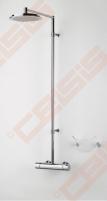Termostatinė lietaus dušo sistema ORAS Cubista