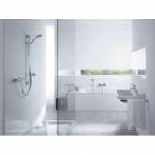 Termostatinis maišytuvas dušui Ecostat 1001 SL 90 su dušo komplektu Termostata ūdens maisītāji