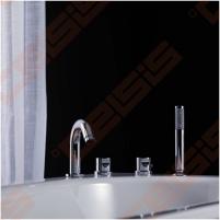 Termostatinis vonios maišytuvas keturių dalių GUSTAVSBERG Scandic Termostatiniai vandens maišytuvai