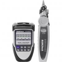 Testeris Basetech BT-300 WT Test leads measurement device, Cable and lead finder, 1 km Bandymų įranga