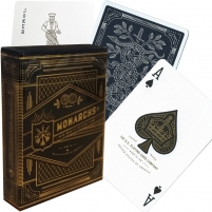 Theory11 Monarchs kortos (Tamsiai mėlynos)