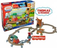 Konstruktorius THOMAS & FRIENDS TRACKMASTER Thomas Castle Quest Set Y3418 (Thomas & friends) Geležinkelis vaikams