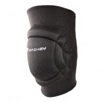 Tinklininko kelio apsaugos Spokey SECURE, juodos, M dydis Tinklinio apranga, apsaugos