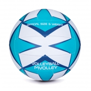 Tinklinio kamuolys Mvolley melsva/balta