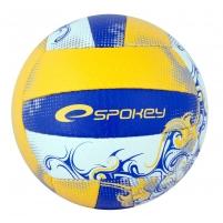 Tinklinio kamuolys Spokey EOS geltona- mėlyna grafika