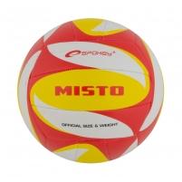 Tinklinio kamuolys Spokey MISTO Balta- raudona- geltona
