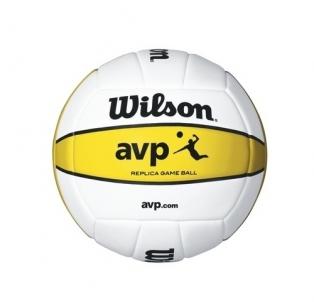 Tinklinio kamuolys Wilson Official AVP MINI WTH4110XDEF balta/geltona