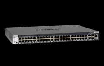 Tinklo komutatorius Netgear M4300-52G MANAGED SWITCH 48x1G Stackable 2x1G 2xSFP+ (GSM4352S)