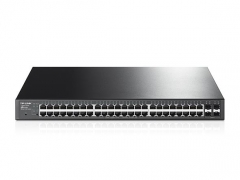 Tinklo komutatorius TP-Link T1600G-52PS PoE+ 48 port 100/1000, 4-Port SFP Smart Switch (TL-SG2452P)