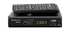 Tiuneris tv Digital Tuner DVB-T2 H.265 HEVC LANCabletech Sat TV, TV imtuvai, moduliai
