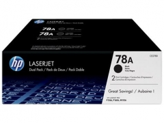 Toner HP 78A black dual pack