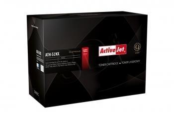 Toneris ActiveJet AT-51NX | Black | 14000 psl | HP Q7551X