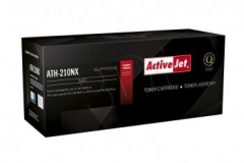 Toneris ActiveJet ATH-210NX | black | 2400 str. | HP HP CF210X (131X), Canon CRG