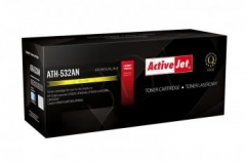 Toneris ActiveJet ATH-532AN | Yellow | 2800 str. | HP HP CC532A (304A), Canon CR