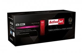 Toneris ActiveJet ATH-533N | Magenta | 2800 str. | HP HP CC533A (304A), Canon CR