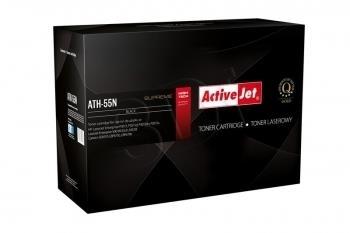 Toneris ActiveJet ATH-55N | black | 6000 str. | HP HP CE255A (55A), Canon CRG-72