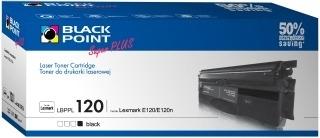 Toneris Black Point LBPPL120 | juodas | 2800 p. | Lexmark 12016SE