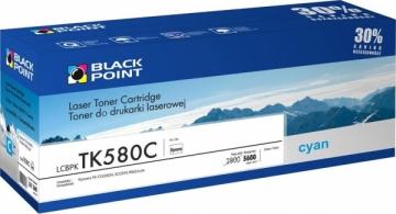 Toneris Black Point LCBPKTK580C | cyan | 5600 pp | Kyocera TK-580C