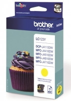 Toneris BROTHER LC-123Y TONER YELLOW 600P