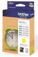 Toneris BROTHER LC125XLY TONER HIGH YELLOW 1200P