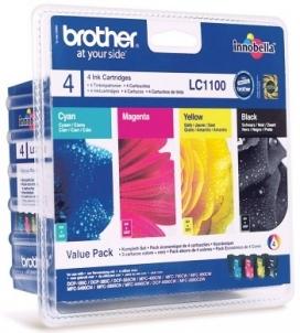 Toneris BROTHER VALUE PACK (LC-1100BK/C/M/Y)