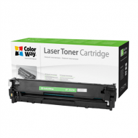 Toneris ColorWay toner cartridge (Econom) for HP CB542A (125Y); Canon 716Y, Yellow