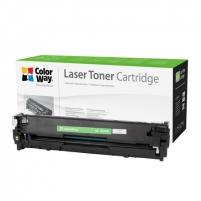 Toneris ColorWay toner cartridge for HP CB542A (125Y); Canon 716Y, Yellow